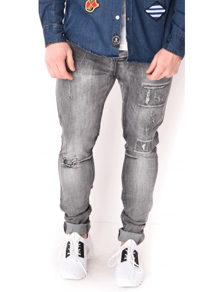 Jeans homme délavé