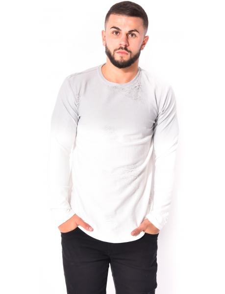 Gov Denim Ripped T-shirt