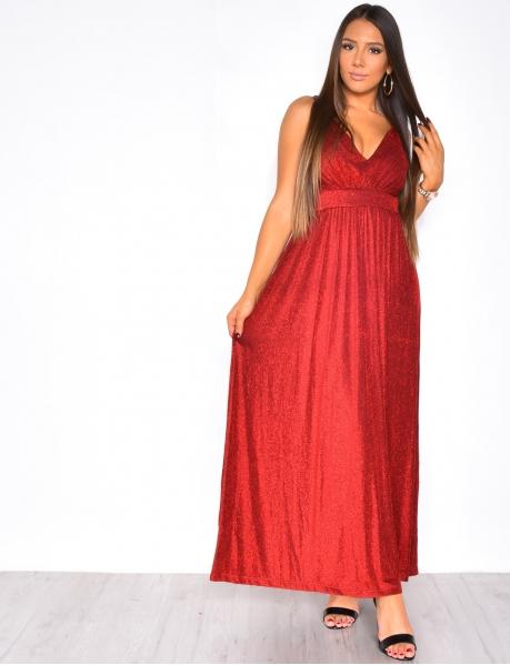Long Glittery Dress