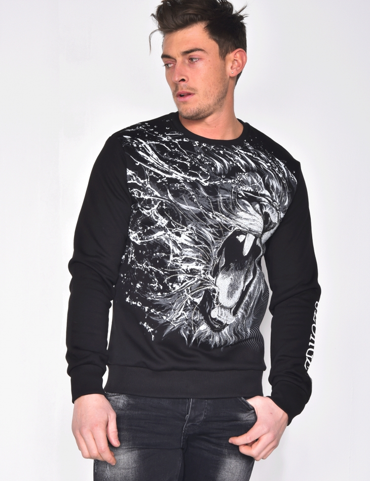 Sweatshirt with George V Print