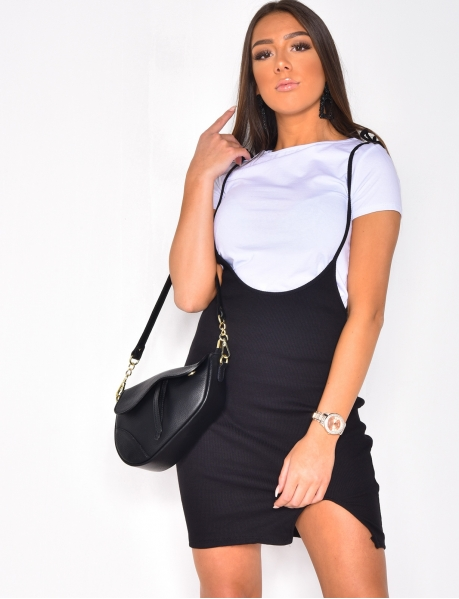Ensemble robe et crop-top