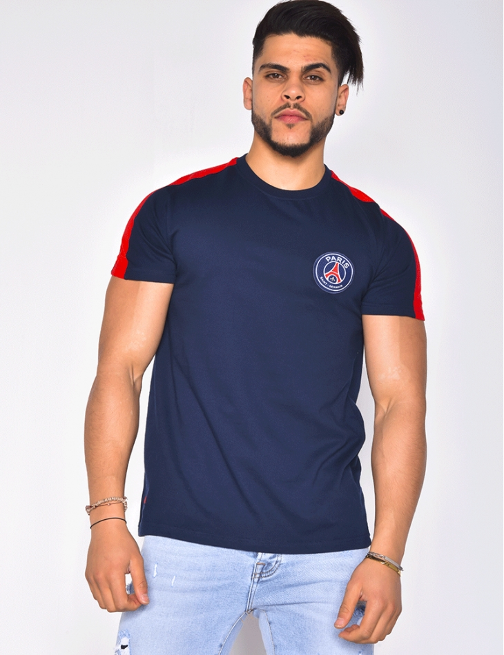 "T-shirt écusson ""Paris Saint Germain"""