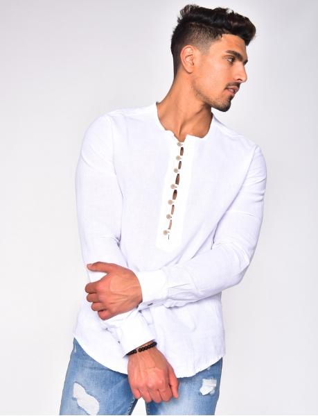 Lightweight Shirt with Buttons