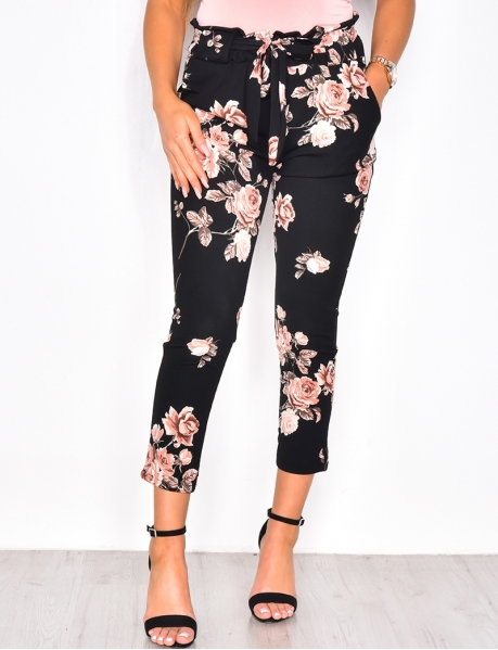 Trousers with Flowers