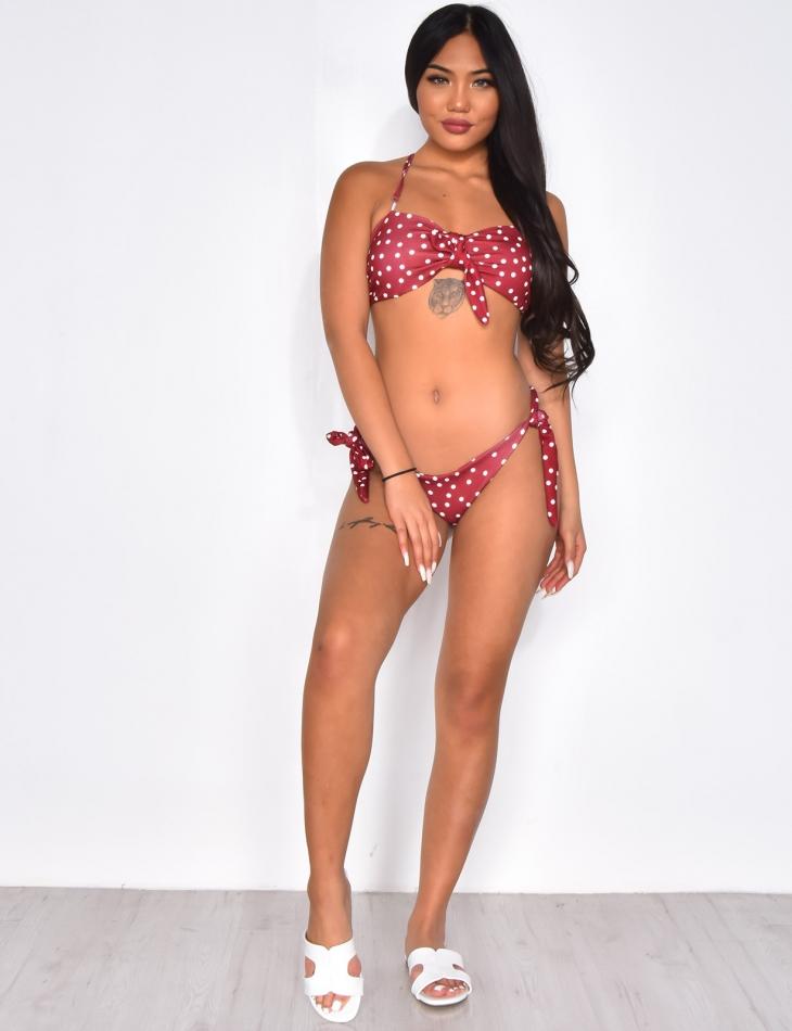Bikini à pois
