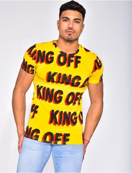 "T-shirt ""King Off"""