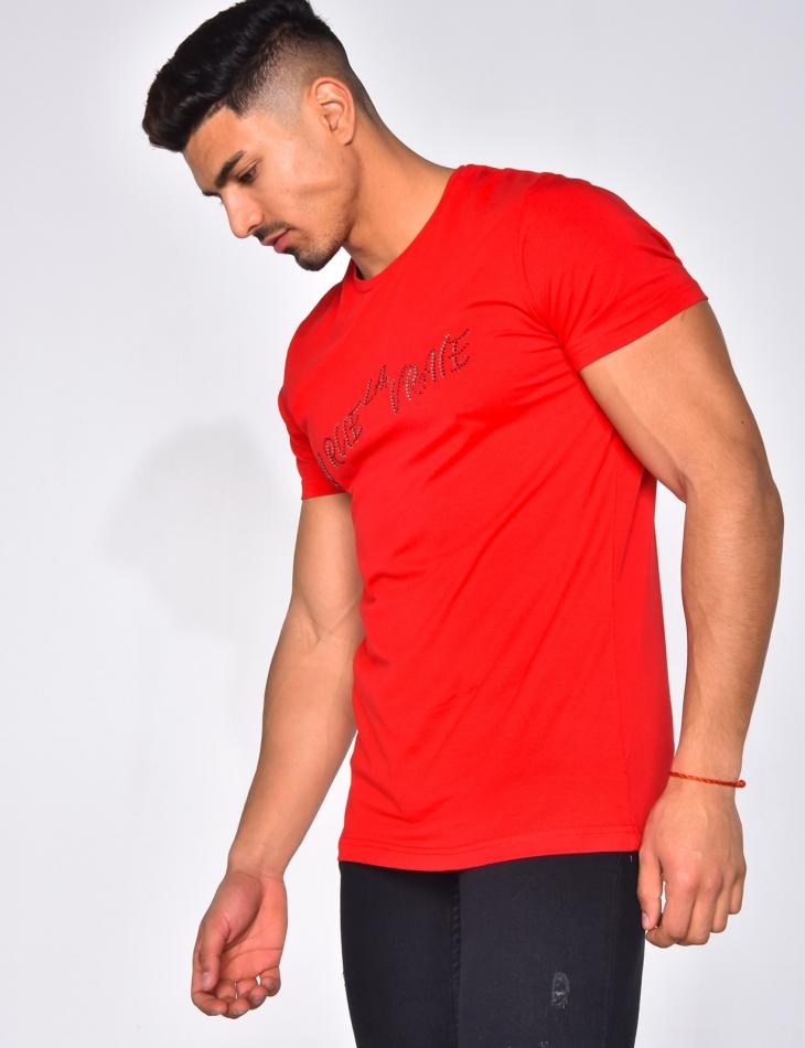 """T-shirt """"La rue la vraie"""""""