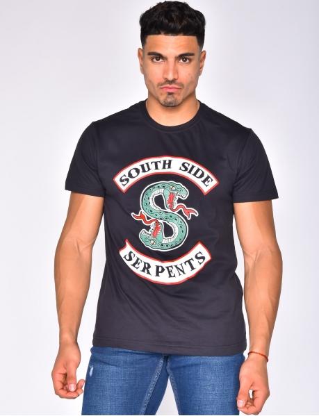 "T-shirt à serpent ""South Side"""