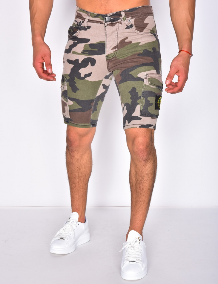 Camouflage Bermuda Shorts