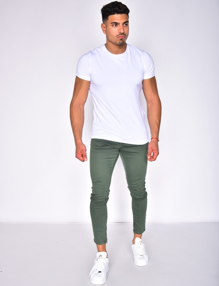 Jeans basic kaki