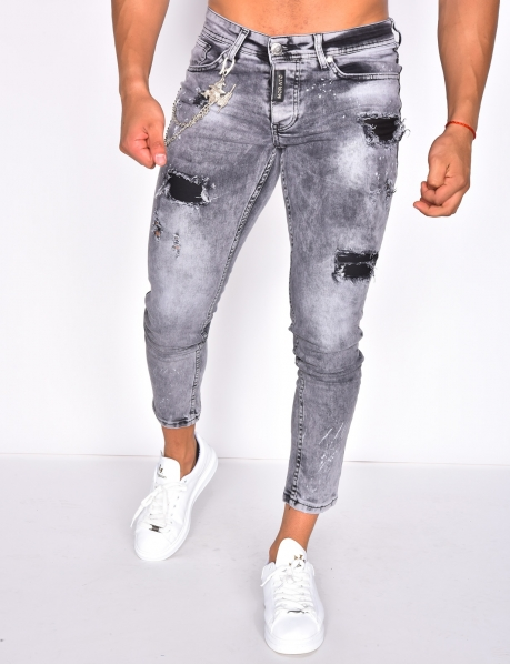 Jeans with Chain