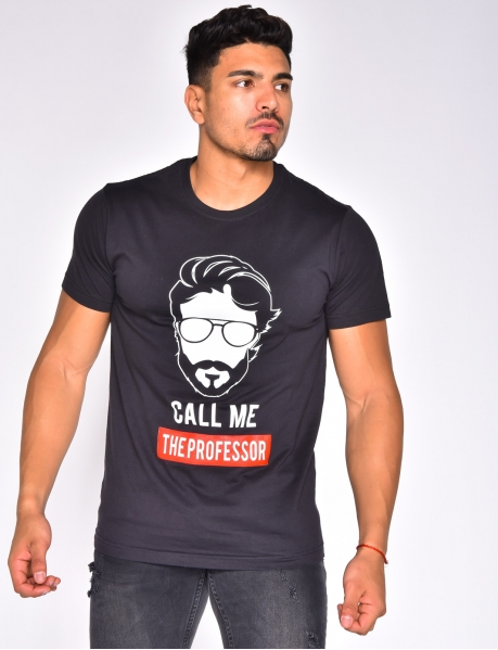 'Call me the professor' T-shirt