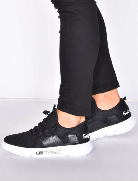 'Supermjp' Fabric Trainers