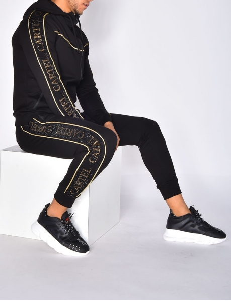 Tracksuit with 'CARTEL' Stripes