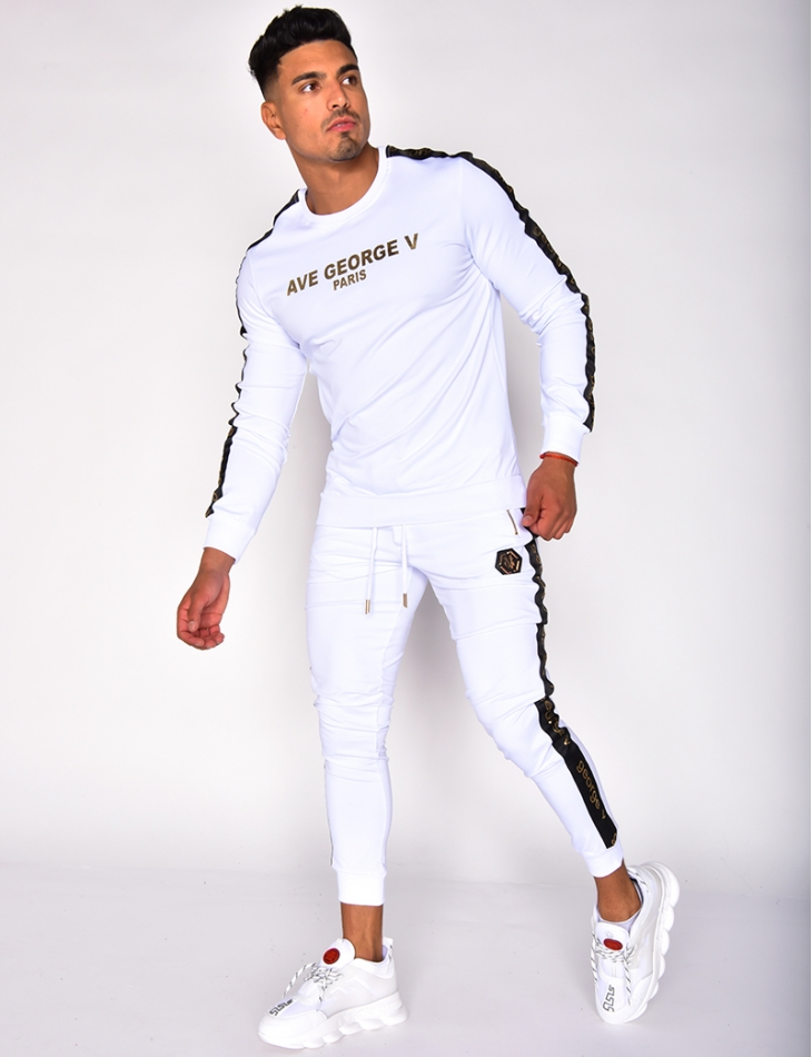 'George Paris' Sweatshirt and Jogging Bottoms