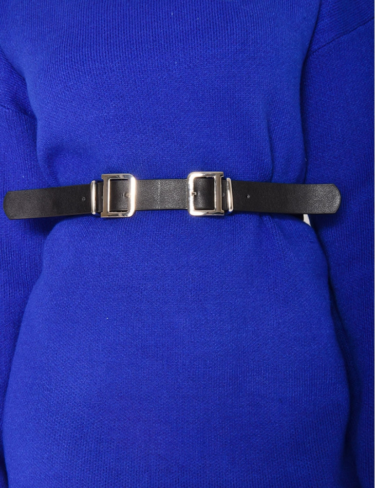 Belt with Double Buckle