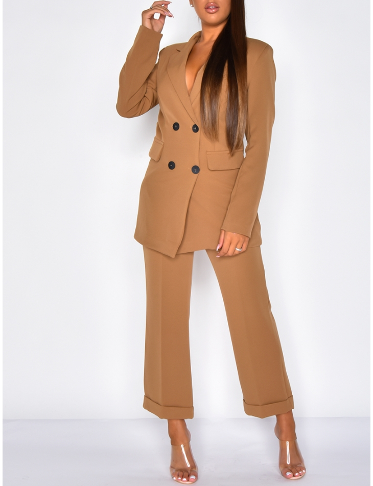 Long Fitted Blazer