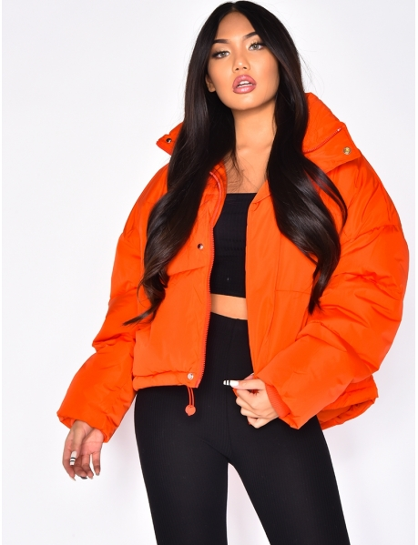 Short Oversized Padded Jacket