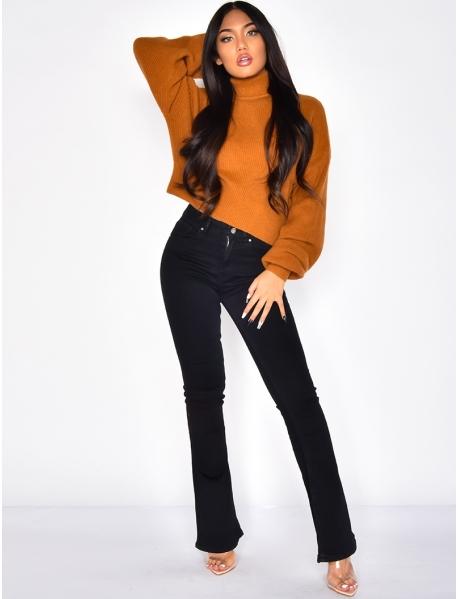jeans skinny patte d'eph