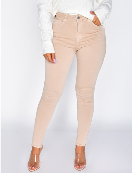 Leggings Skinny Fit mit hoher Taille