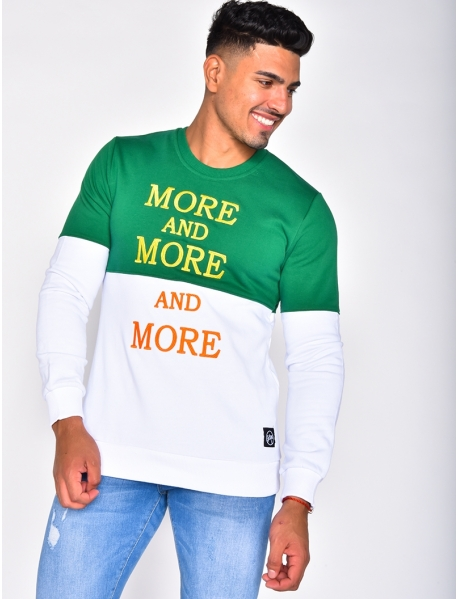 "Sweat ""MORE AND MORE"""
