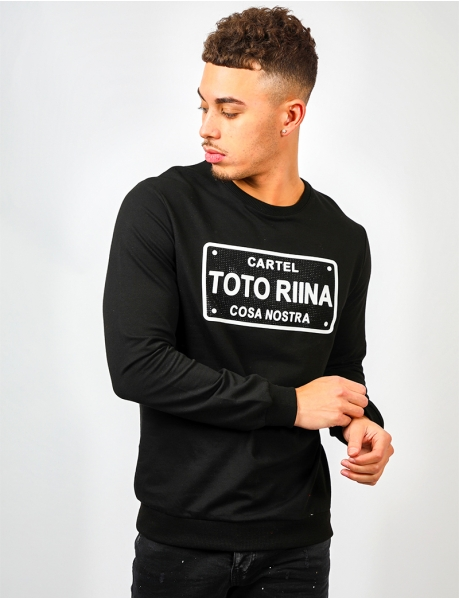 "Sweat à strass ""TOTORINA"""