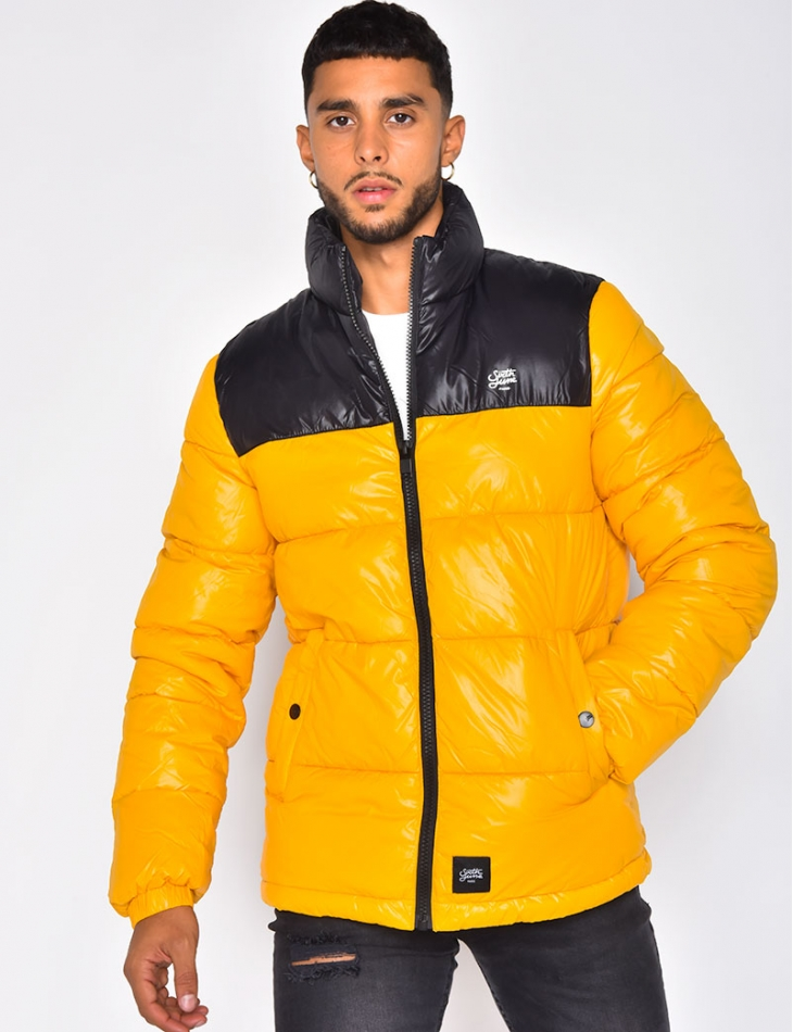 Two-Coloured Padded Jacket