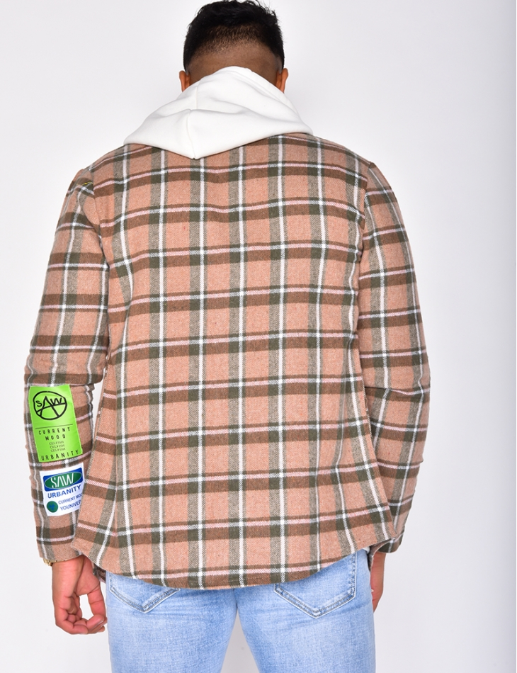 """Knomingness"" Checked Shirt"