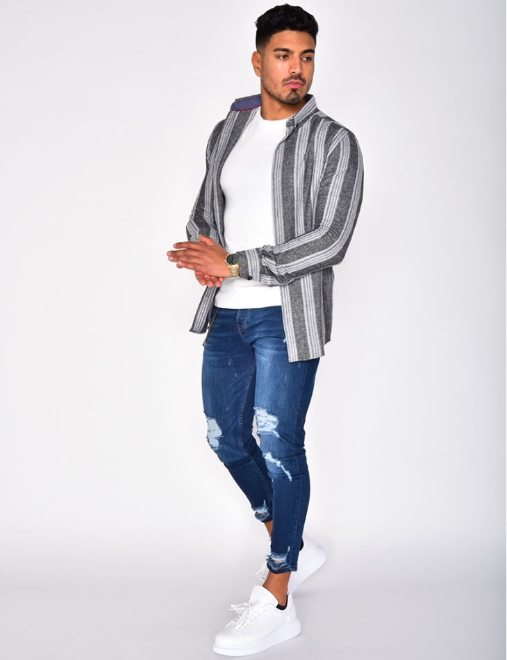 Thick Striped Shirt
