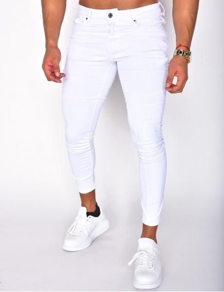 Jeans basic blanc