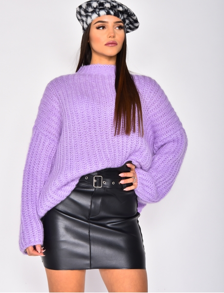 Super Soft Mohair Oversized Jumper