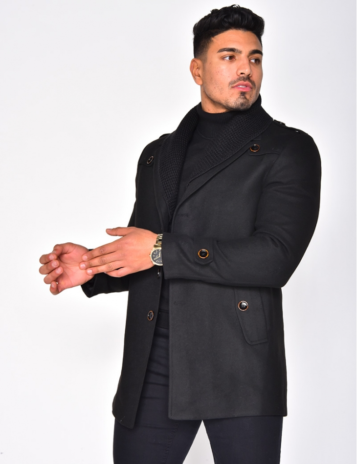 Coat with Collar