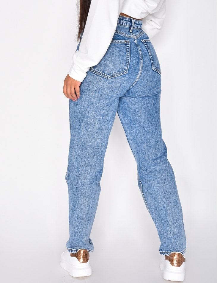 90s Style Mom Jeans