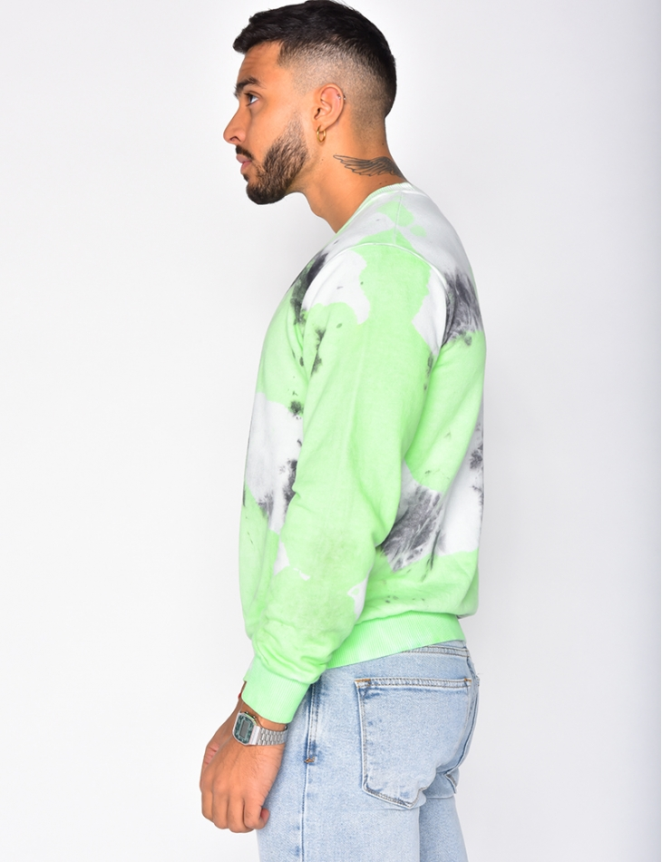Sweatshirt with Flecks