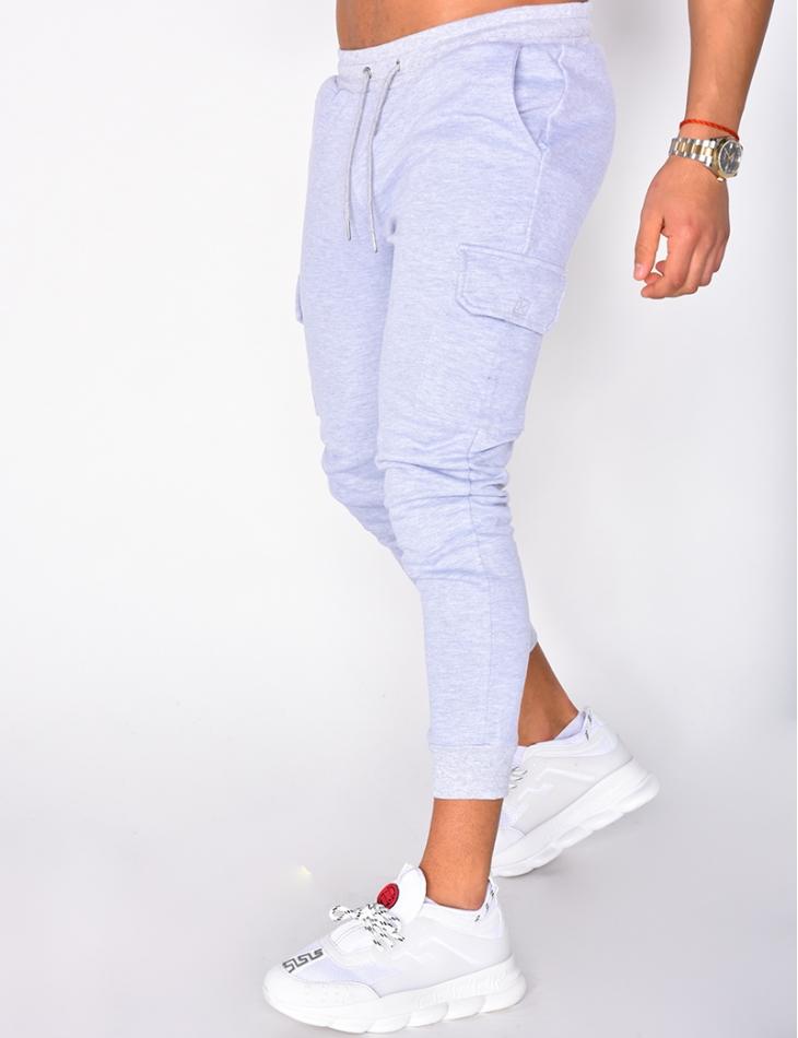 Pantalon jogging à poches