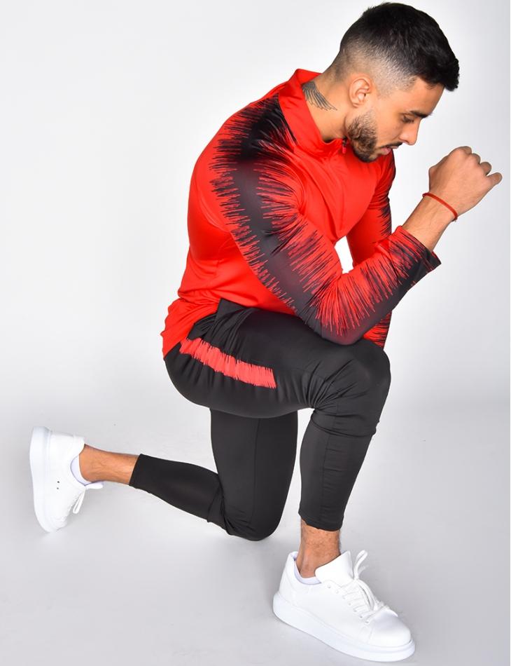 Ensemble de jogging pantalon et sweat zippé
