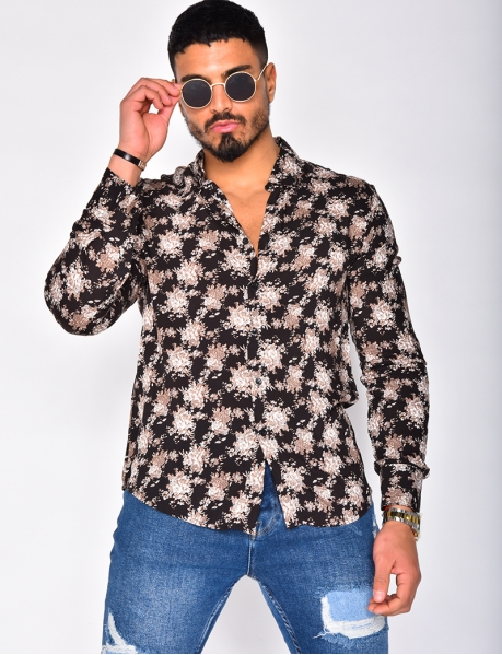 Long Sleeved Floral Shirt
