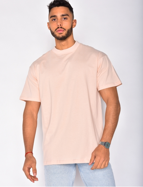T-shirt basic col montant
