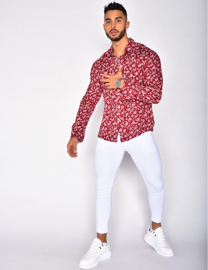 Long Sleeved Floral Shirt