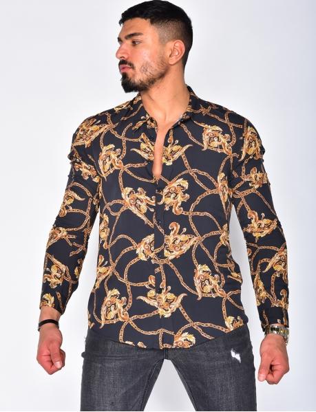 Chemise à chaines
