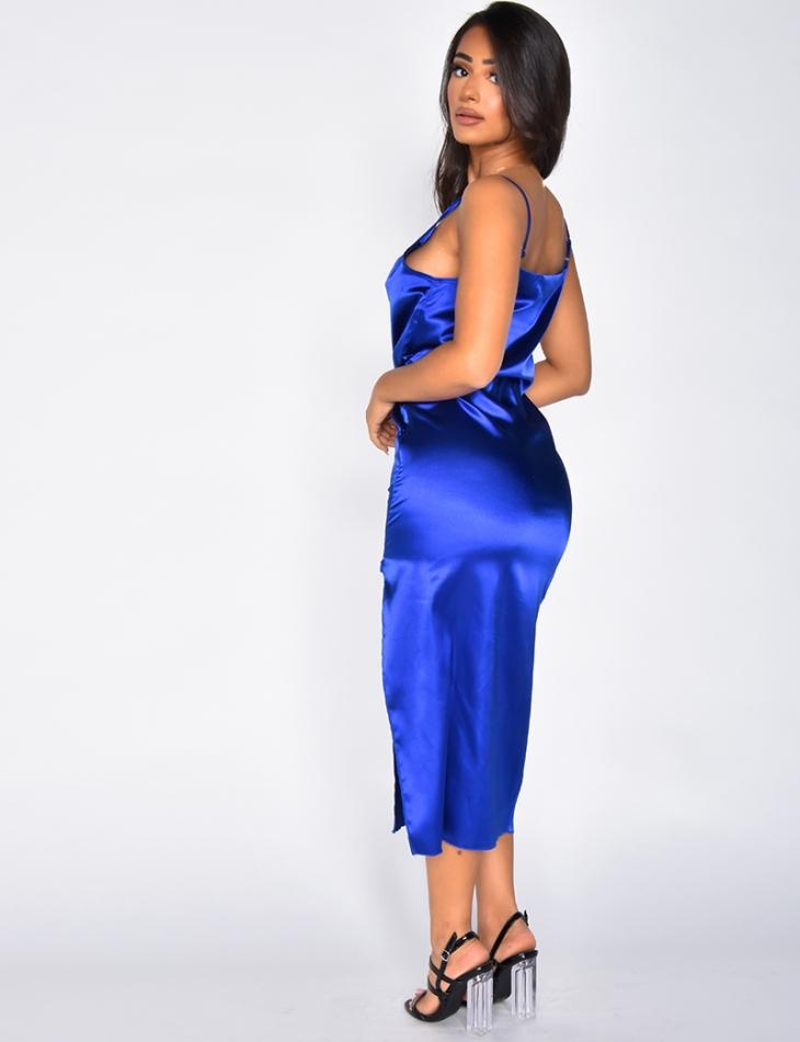 Long Satiny Dress