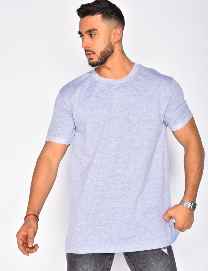 T-shirt oversize col rond