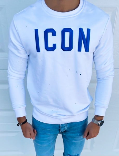 "Sweat col rond ""ICON"""