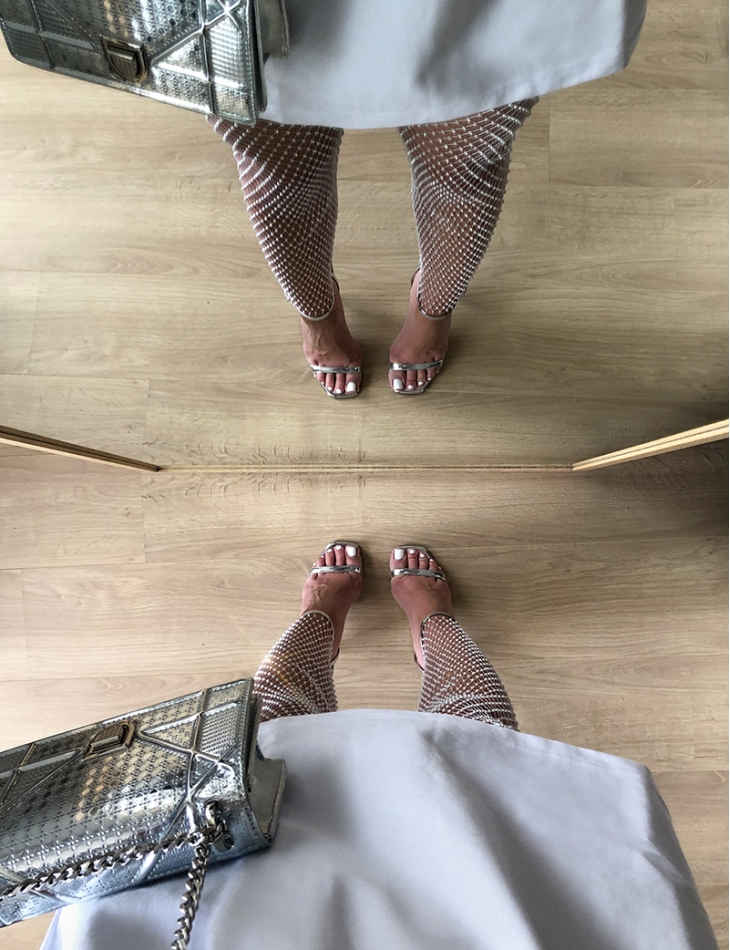 Legging à strass