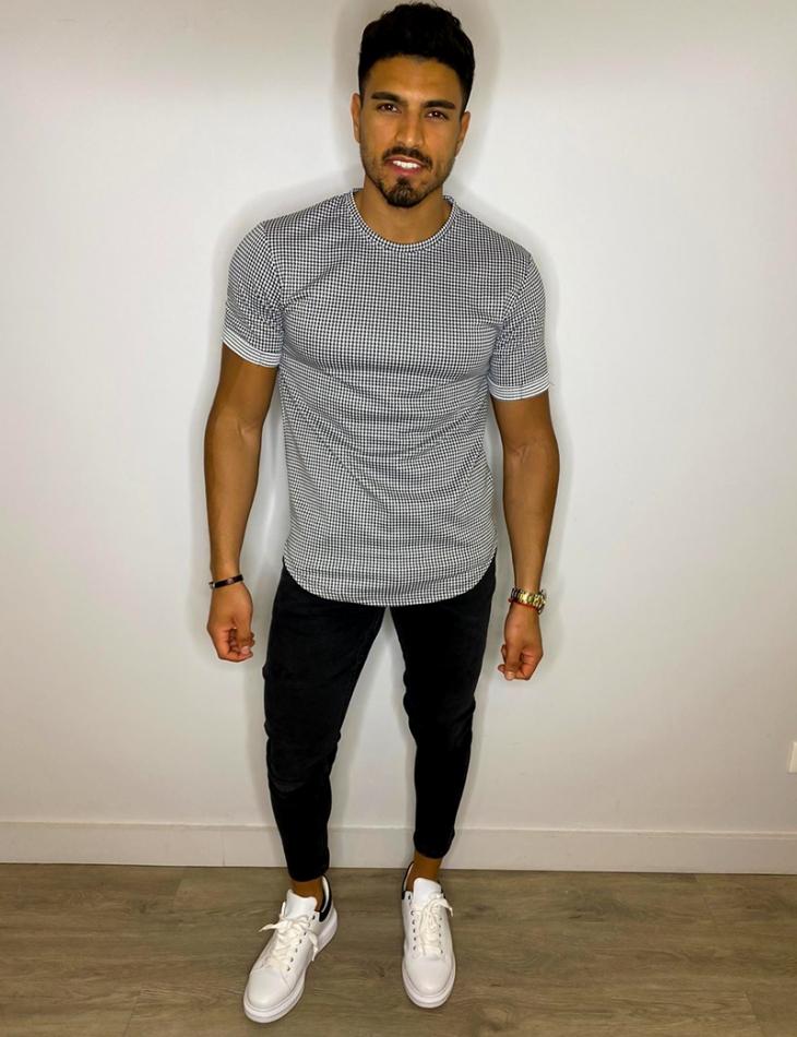 T-shirt vichy