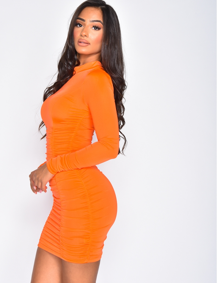 Drape Bodycon Dress