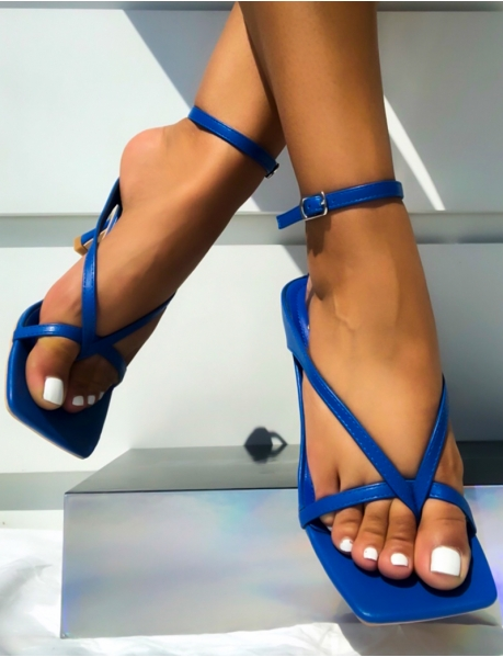 Sandals with Flared Heels
