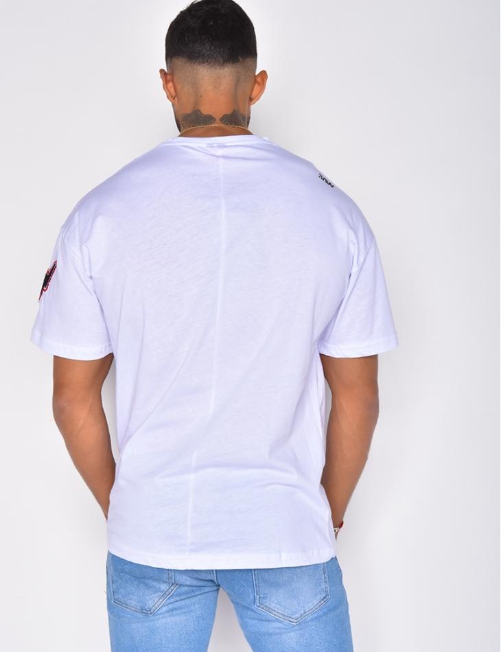 T-shirt homme à motifs