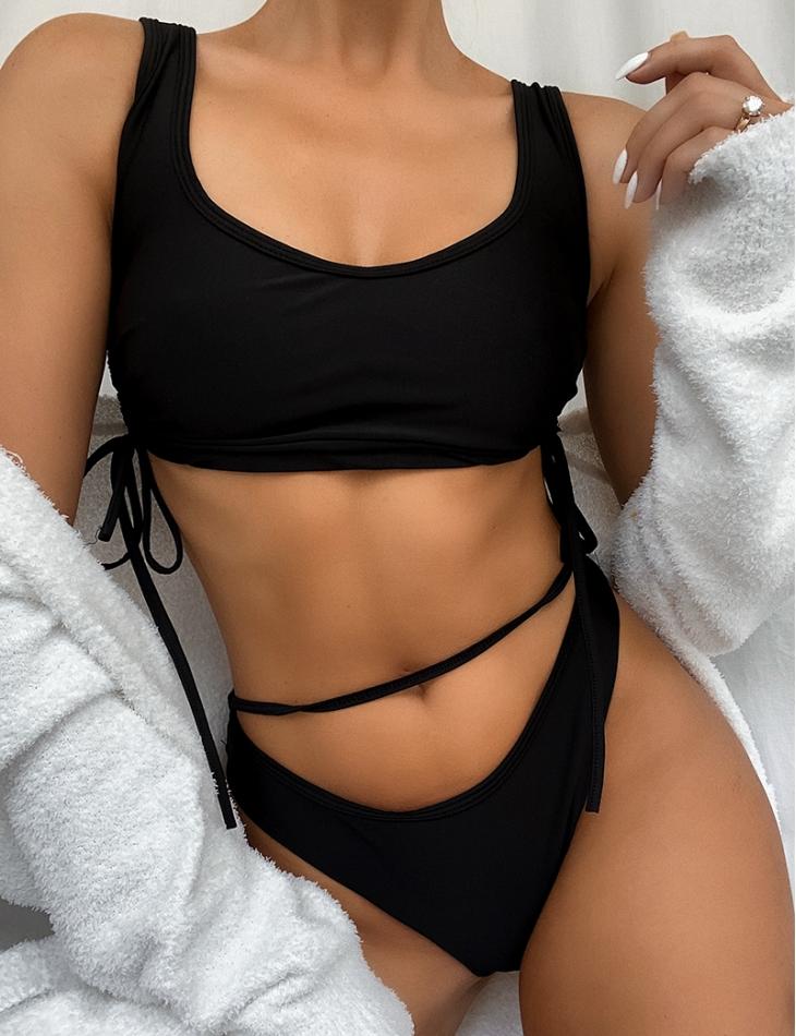 Bikini taille haute