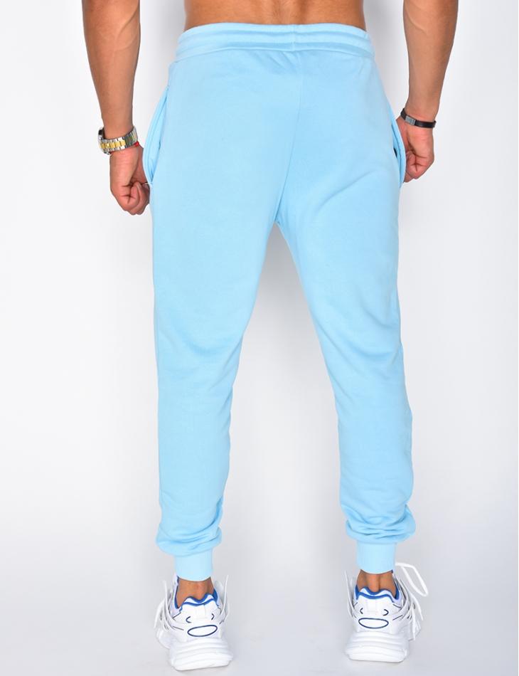 Pantalon de jogging molletoné